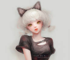 Neco mimi hair band Girl.