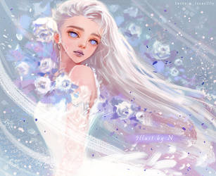 White Bride. by Nissaclily