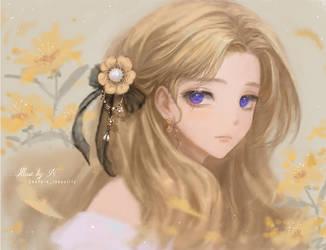 Pretty girl by Nissaclily