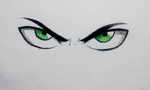 The eyes of the Jaeger