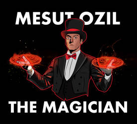 Mesut Ozil the Magician