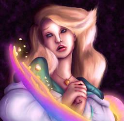 The Swan Princess by oOKittyFishOo