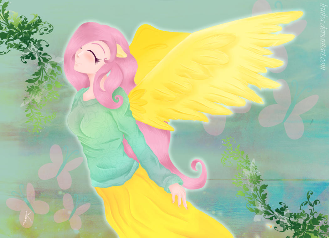 Fluttershy is Inspiration by lRuika