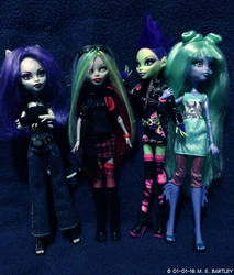 Monster High OCs