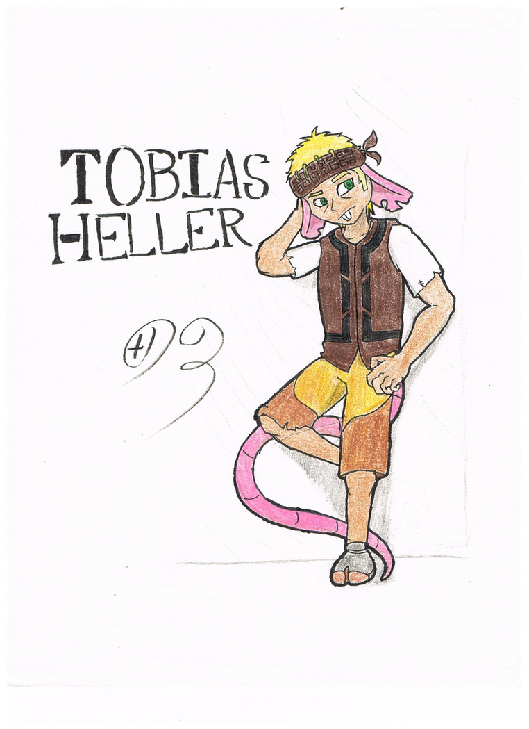 Tobias Heller by Dragonuv3