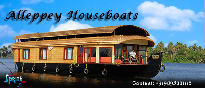 Alleppey Houseboats by sobinmicheal