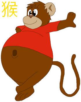 Chubby Chinese Zodiac: Monkey