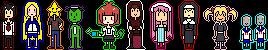 free Arakawa icons by bugcatchers
