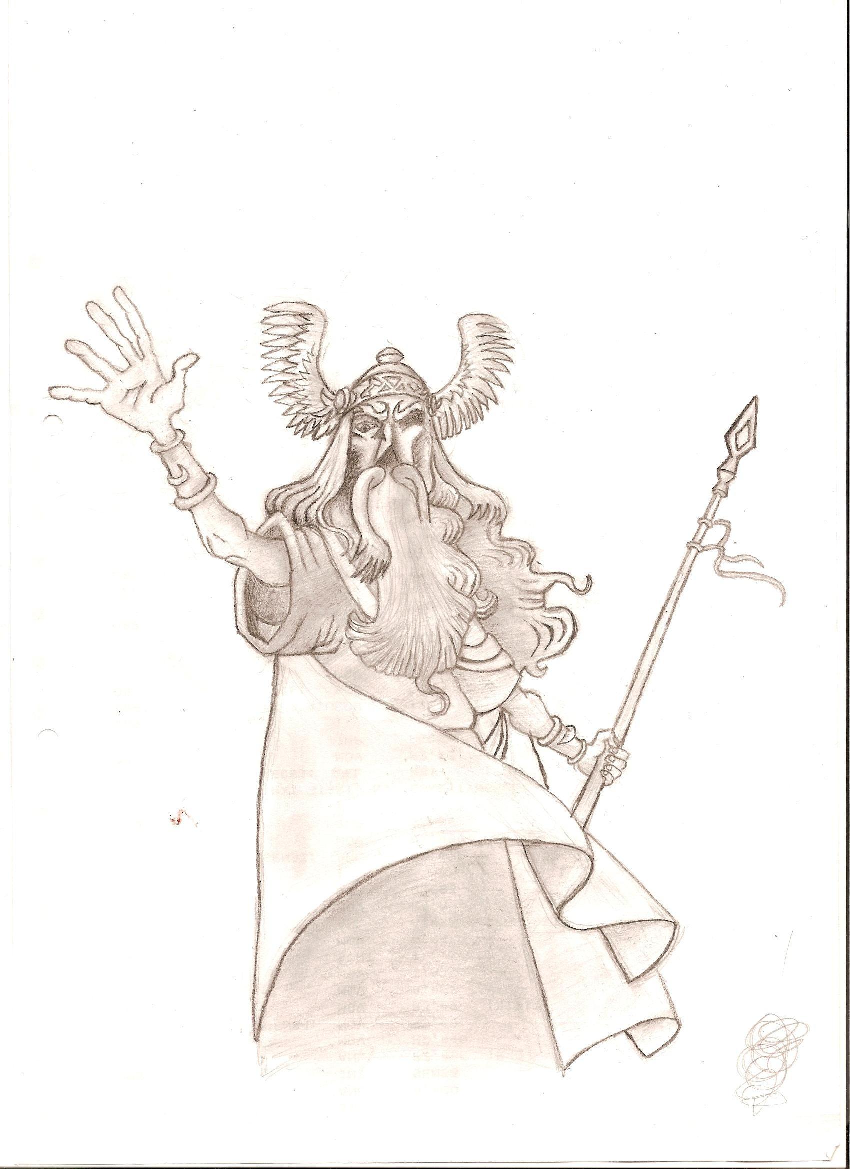 Odin by DrGFreeman