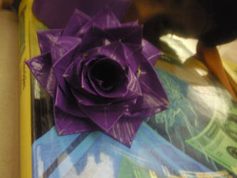 Duct Tape Rose by Cookiez777