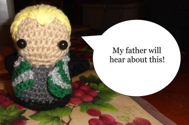 Harry Potter - Draco Amigurumi Character by Cookiez777
