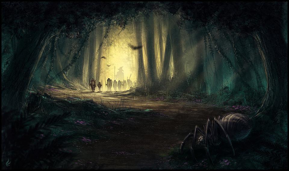 Into the Mirkwood