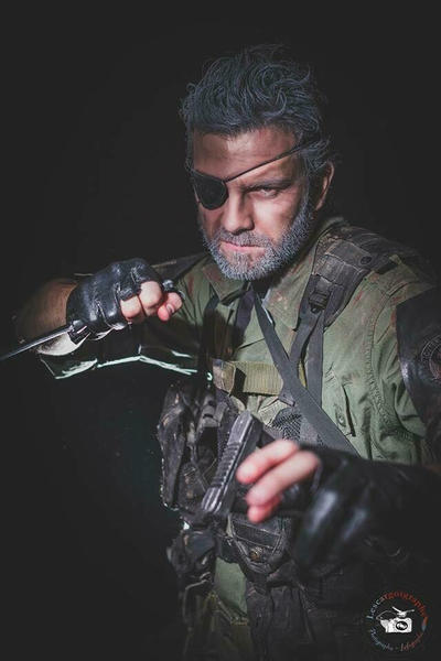 Big Boss From Metal Gear 2 Solid Snake By Zephon Cos On