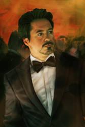 Tony Stark by Valerie-V