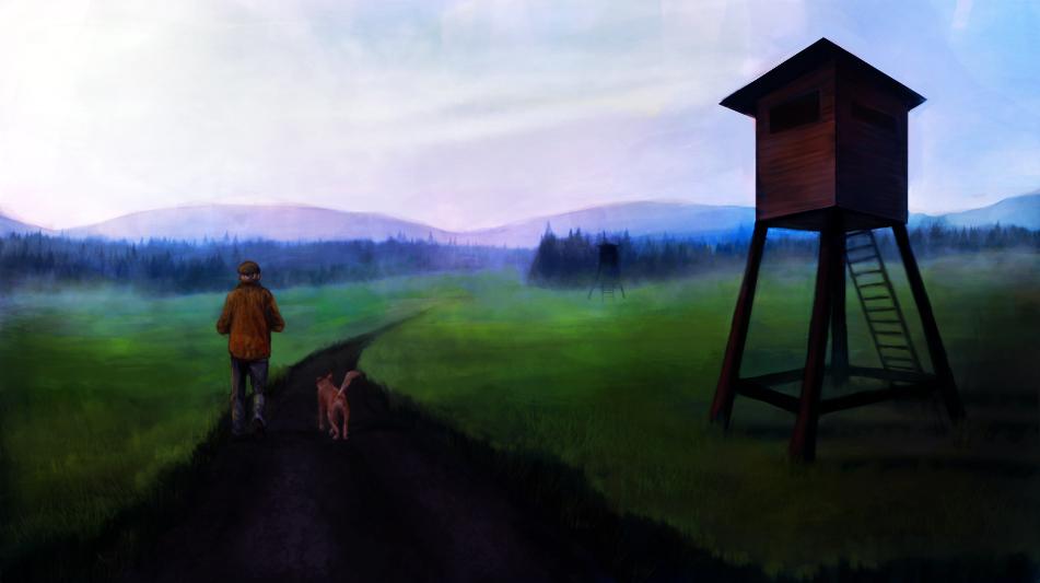 Morning walk by Valerie-V