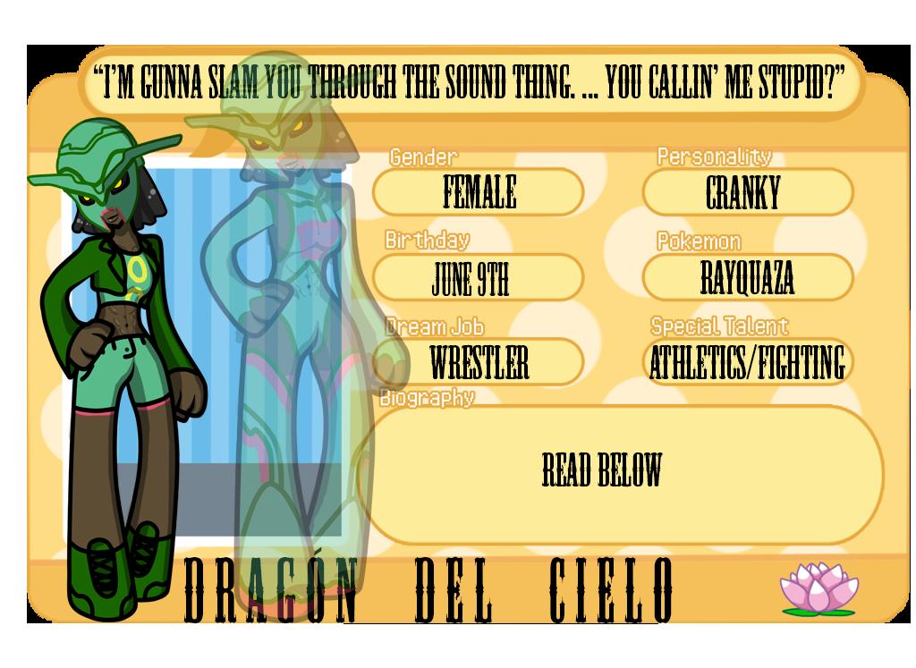 LT - Dragon Del Cielo App by NaiveSpaceman