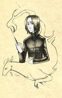 HP: silver sketch