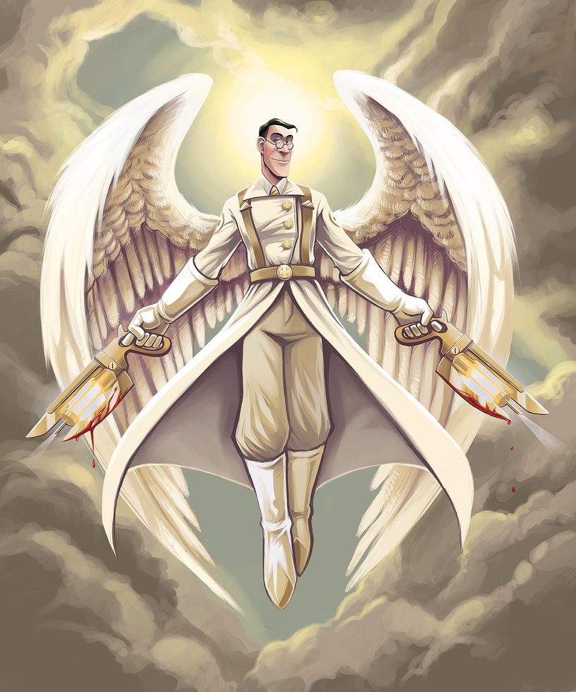 Angel of Mercy by Fluro-Knife