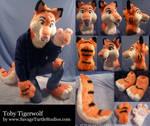 Toby Tigerwolf by JakeJynx