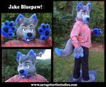 Jake Bluepaw Partial by JakeJynx