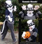 Sammie Skunk Partial by JakeJynx