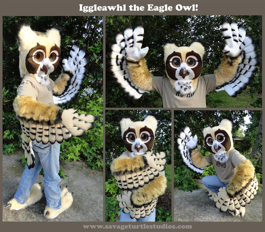 Iggleawhl the Eagle Owl by JakeJynx