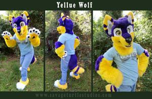 Yellue Wolf by JakeJynx