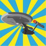 NCC 1701 Vector Art