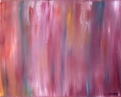 Pink Abstract Oil Blend