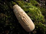 Wise man in wood by Noir-Azur