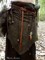 Tribal over-skirt I by Noir-Azur