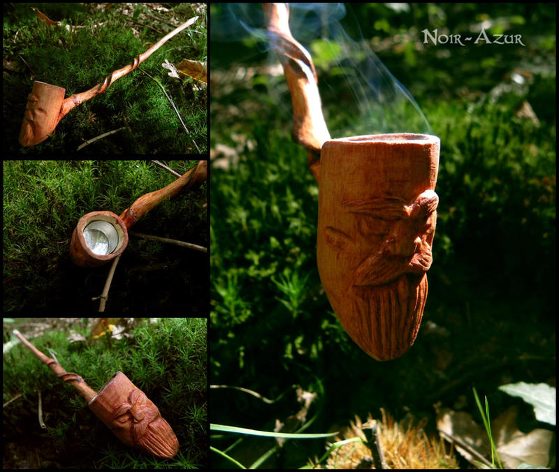 Wiseman Pipe by Noir-Azur