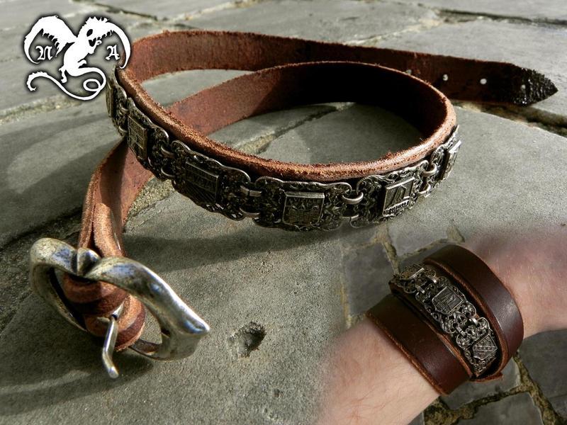 Pirate bracelet by Noir-Azur