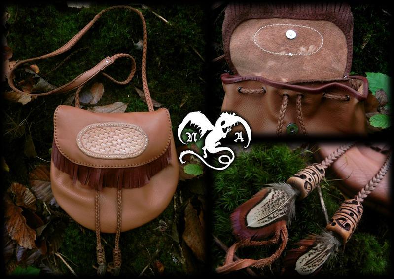 Amerindian style bag by Noir-Azur