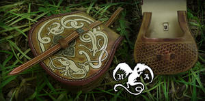 Viking belt bag by Noir-Azur