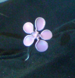 The second wire and polish nail flower - smaller by Aranel-Inglorion