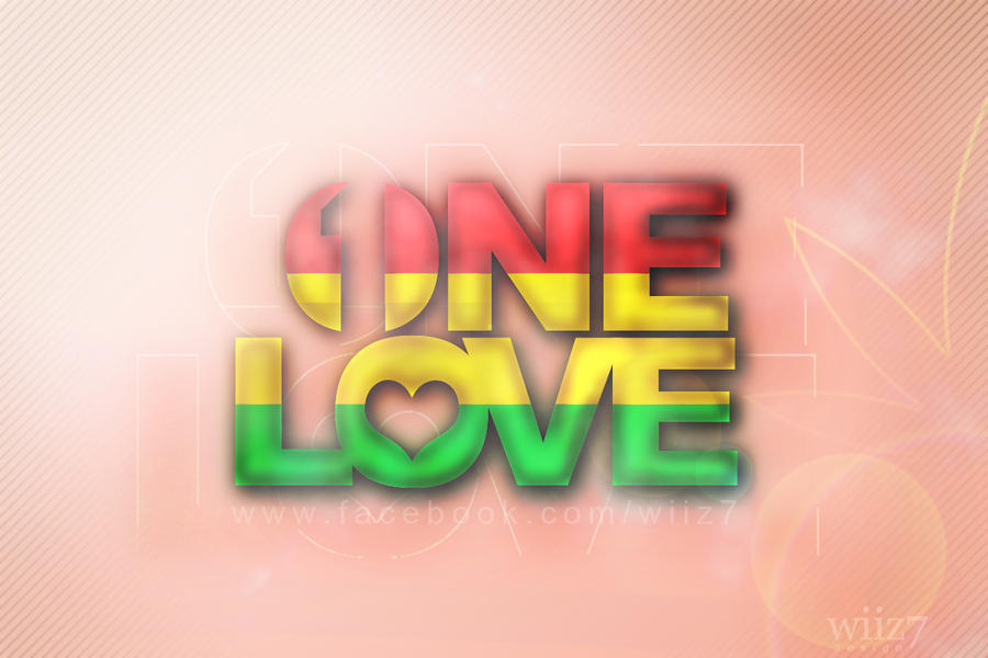 One Love Rasta Wallpaper by daWIIZ on DeviantArt