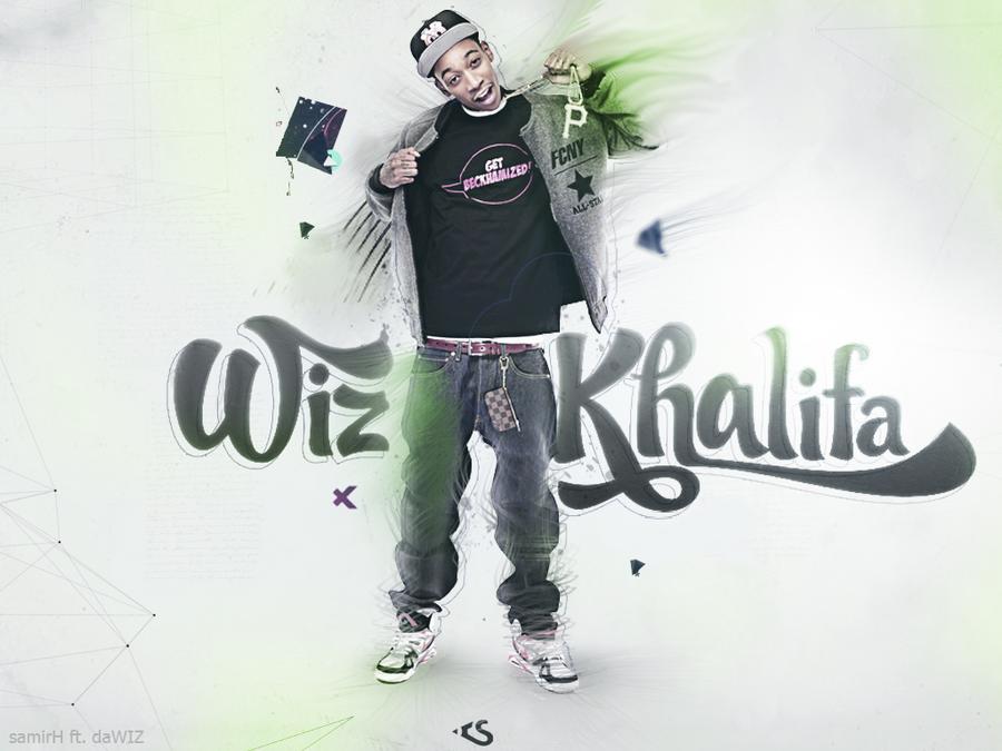 Wiz Khalifa Wallpaper ft. SamirH v2 by daWIIZ on DeviantArt