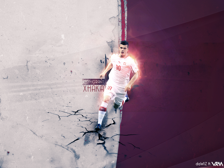 Granit Xhaka Wallpaper by daWIIZ