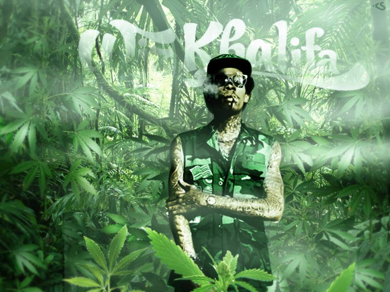 Wiz Khalifa by daWIIZ on DeviantArt