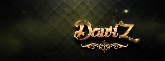 Dawiz Cover Gold Effect