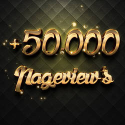 +50.000 Pageviews Thank You!