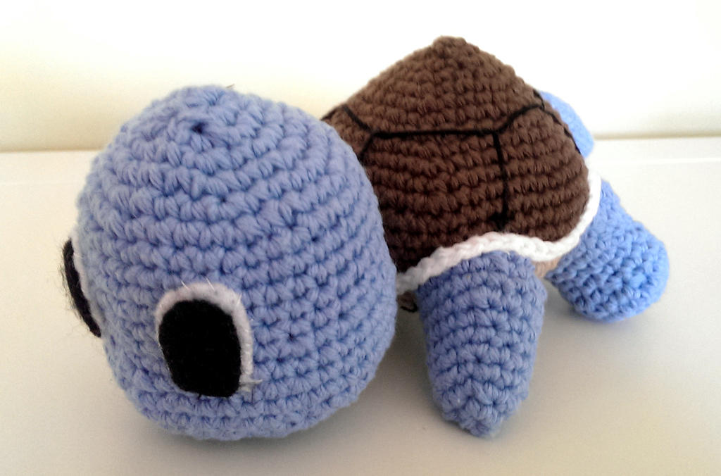 Crocheted Squirtle