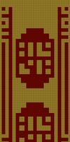 Journey Scarf Pattern (double knitting)