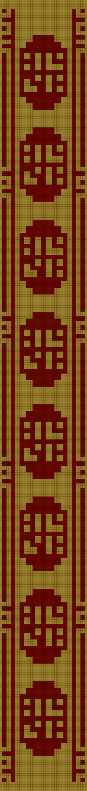 Journey Scarf Pattern (double knitting) by Yodaman921 on DeviantArt
