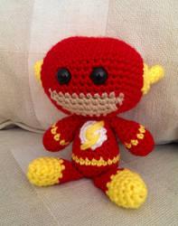 Crocheted Flash by Yodaman921