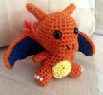 Crocheted Charizard