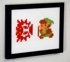 Cross Stitched Legend of Zelda by Yodaman921