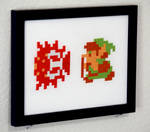 Cross Stitched Legend of Zelda