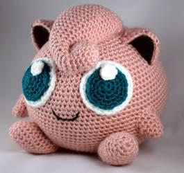Crocheted Jigglypuff